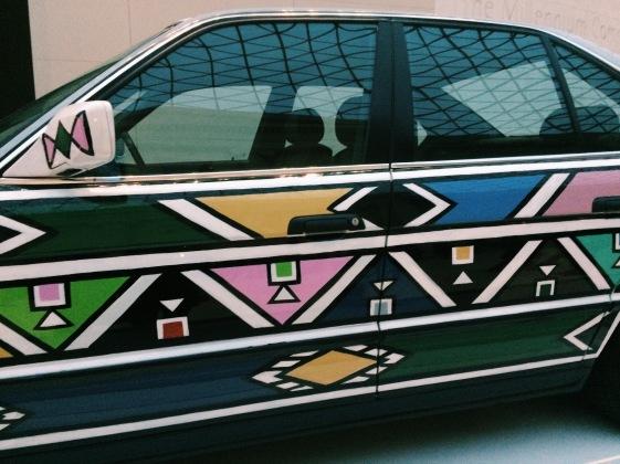 Onto the BMW
